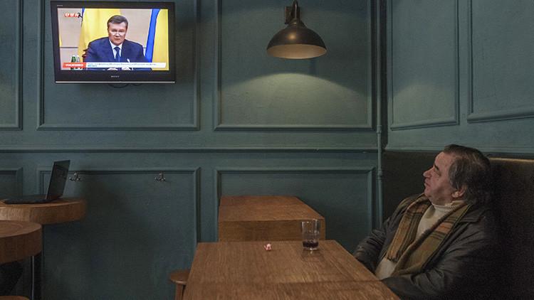 """Yanukóvich: El operativo militar de Kiev """"es un crimen contra su propio pueblo"""""""