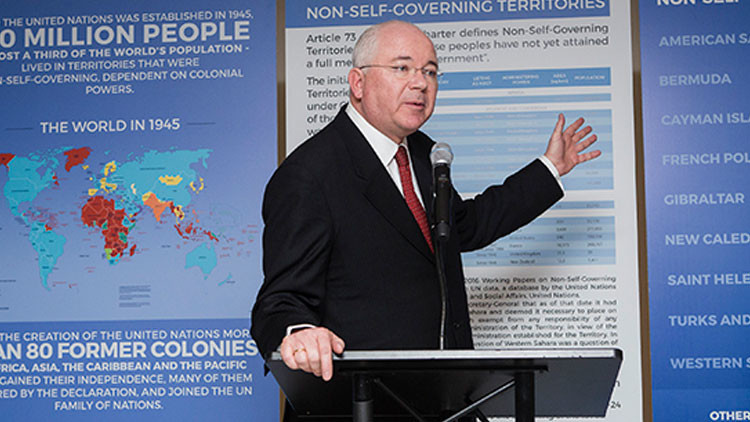 Venezuela vuelve a presidir el Comité de Descolonización de la ONU