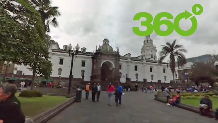 """El paseo en 360° por el """"casco histórico mejor mantenido de América Latina"""""""