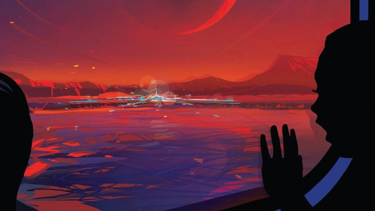 FOTOS: El pintoresco afiche de la NASA que invita a un exoplaneta recién descubierto