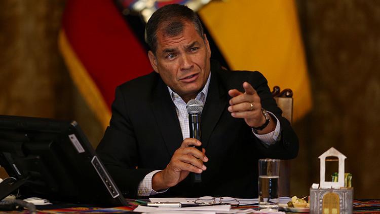 """Rafael Correa a la oposición: """"Si se portan mal me presento y los vuelvo a derrotar"""""""