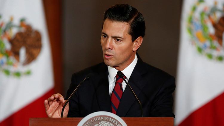 """Peña Nieto: """"México negociará con EE.UU. con un posicionamiento firme"""""""