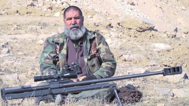 El francotirador de 62 años eliminó a 321 terroristas del Estado Islámico (VIDEO)