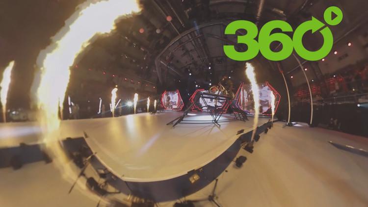 Sochi inaugura los Juegos Militares Mundiales con llamativas exhibiciones artísticas y acrobáticas