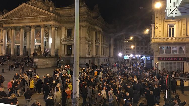 Evacúan una sala de conciertos en Bruselas por amenaza de bomba