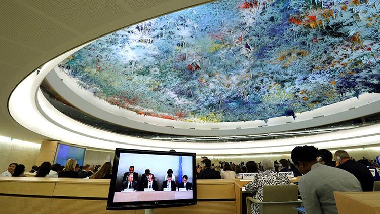 'Politico': EE.UU. está considerando la salida del Consejo de Derechos Humanos de la ONU