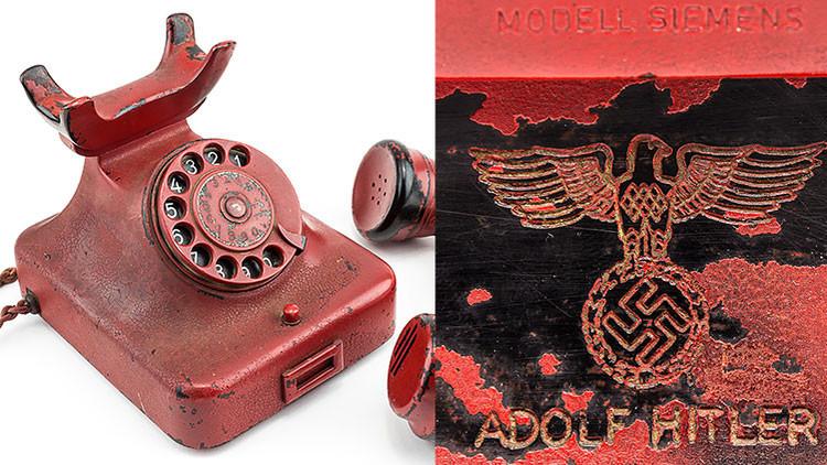 Experto alemán: El teléfono que se vendió como usado por Hitler es falso