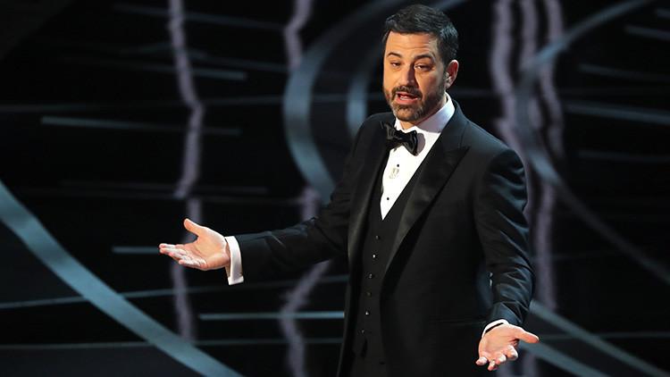 'Trump' se cuela en los Oscar con guiños y mensajes de protesta y en los chistes de Jimmy Kimmel