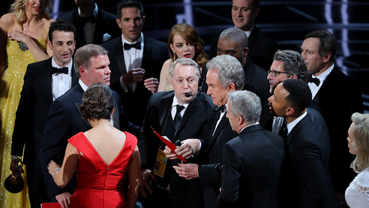 Explican por qué se anunció por error que 'La La Land' había ganado el Oscar a la Mejor Película