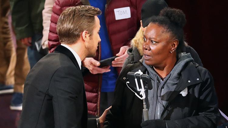 El gesto del actor Ryan Gosling que se convirtió en un meme viral (FOTOS)