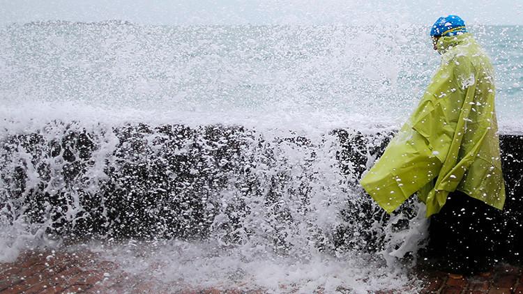 Se activa la alerta naranja por riesgo de inundaciones en la costa atlántica de Francia