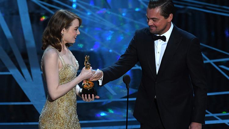 """""""Todo es culpa de Leo"""": ¿Fue el caos en la gala de los Oscar una venganza de DiCaprio?"""
