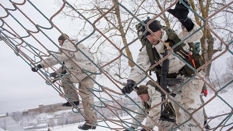 EE.UU. y Estonia inician ejercicios conjuntos cerca de las frontera de Rusia