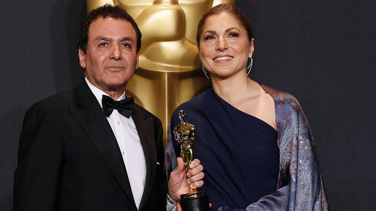 EE.UU. elimina el tuit en el que felicitó al director iraní que obtuvo un Oscar