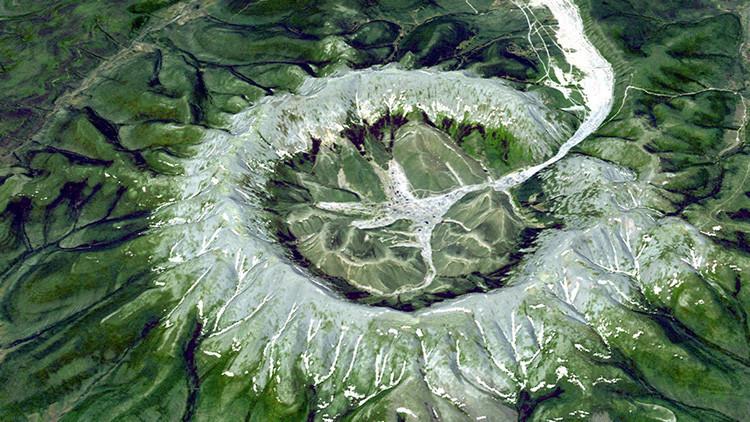 Ver para creer: macizo único en Siberia cuenta con cristales de metales preciosos en sus entrañas