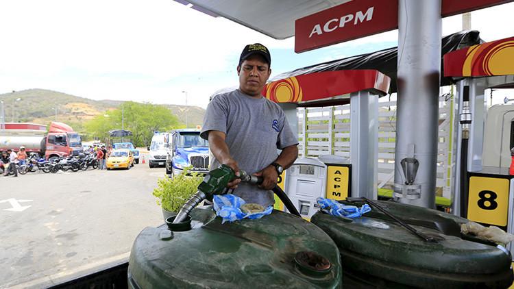 El 'gasolinazo' de Colombia: subirán precios de combustibles en marzo