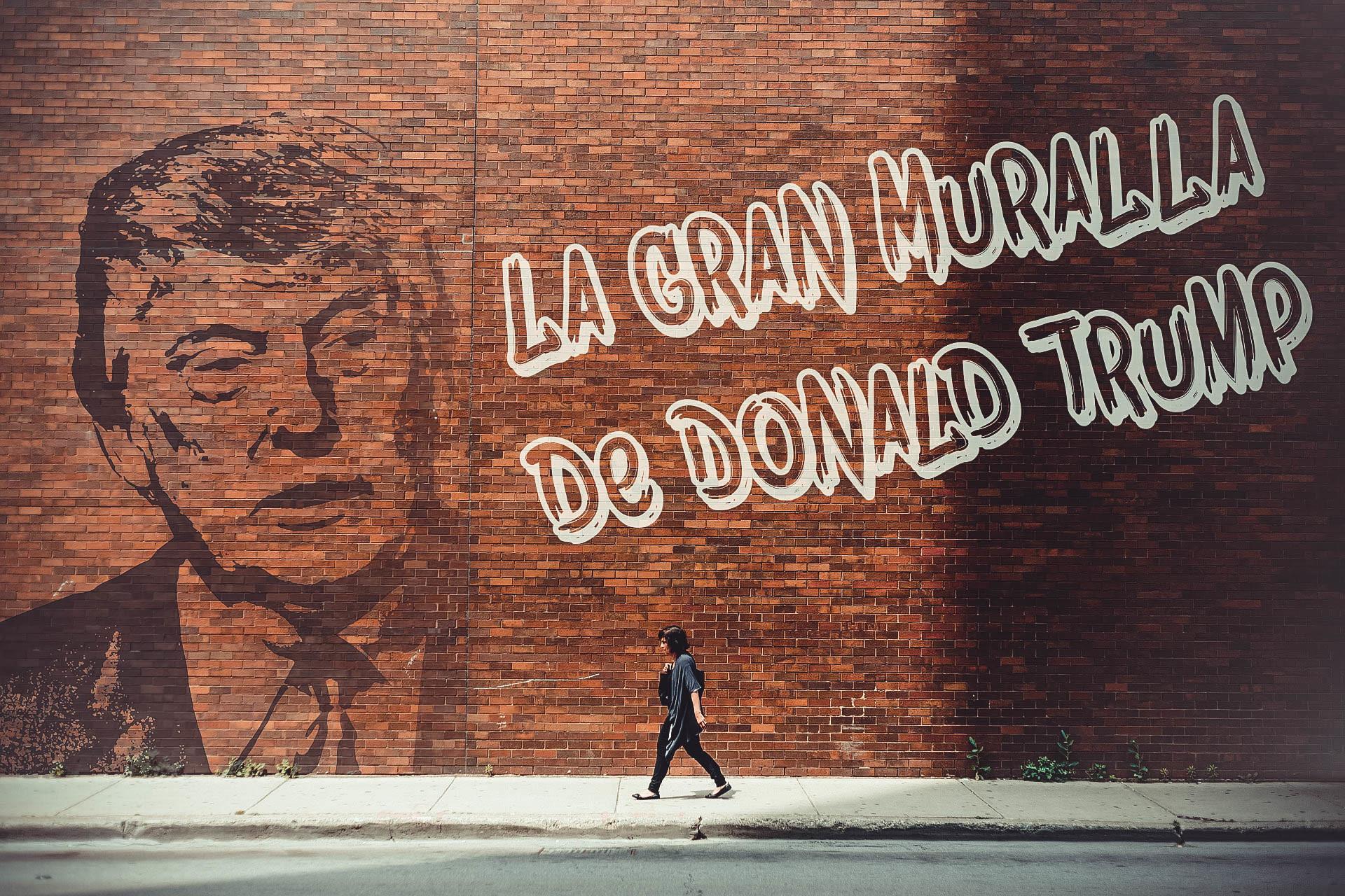 La Gran Muralla de Donald Trump: La nueva cara de la inmigración en EE.UU.