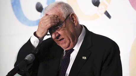 El presidente de Israel Reuven Rivlin.