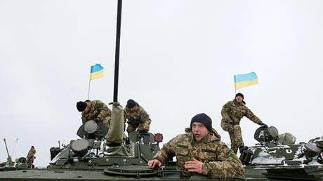 Los soldados de Ucrania