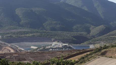 Una mina de la empresa canadiense Goldcorp cerca del pueblo de Carrizalillo, en el estado mexicano de Guerrero