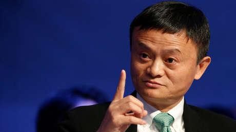 El fundador de la compañía de comercio electrónico Alibaba, Jack Ma, en Davos, Suiza, el 18 de enero de 2017.