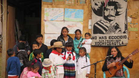 Presentacion del proyeto 'Kuikantos' con coro infantil de Xochicuautla