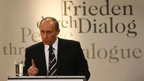 Putin en la Conferencia de Seguridad de Múnich, 10 de febrero de 2007