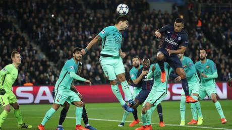Barza-PSG, el partido de fútbol de la Liga de Campeones de la UEFA, el 14 de febrero, 2017.