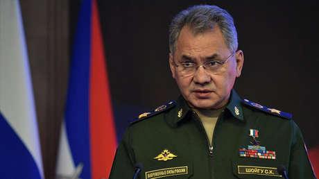El ministro de Defensa de Rusia