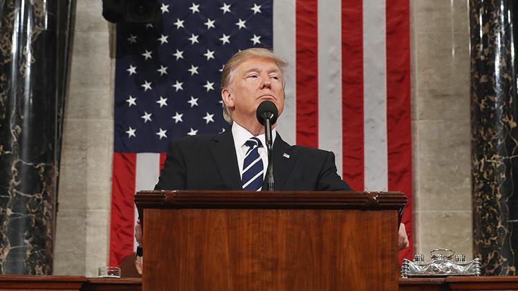 """Trump al Congreso: """"Mi trabajo no es representar al mundo. Mi trabajo es representar a EE.UU."""""""