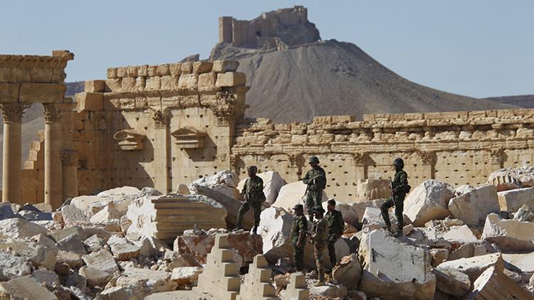 Sin pausa: Ejército sirio avanza hacia Palmira