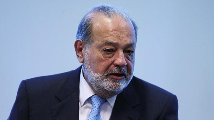 La meteórica caída de la fortuna de Carlos Slim