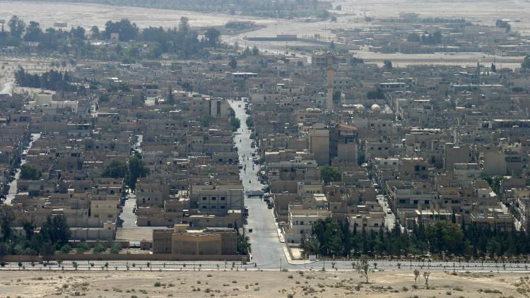 Imparables: Primeras imágenes del Ejército sirio tras arrebatar el 'Triángulo de Palmira' al EI