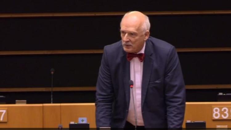 "Eurodiputado polaco a eurodiputada española: ""Las mujeres tienen que ganar menos que los hombres"""