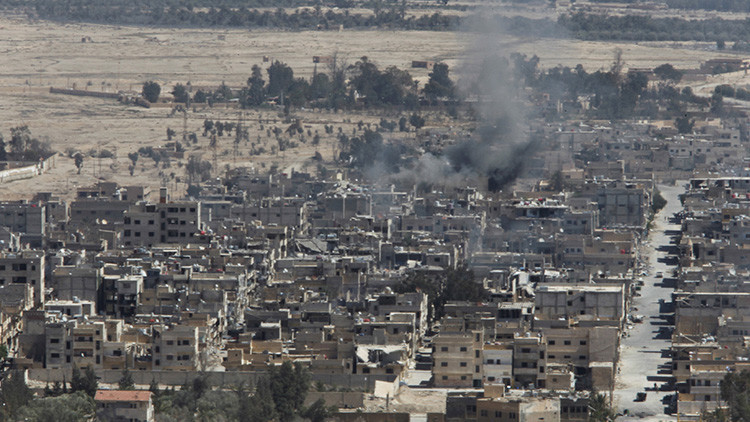 Agencia SANA: El Ejército sirio entra en el casco histórico de la ciudad de Palmira