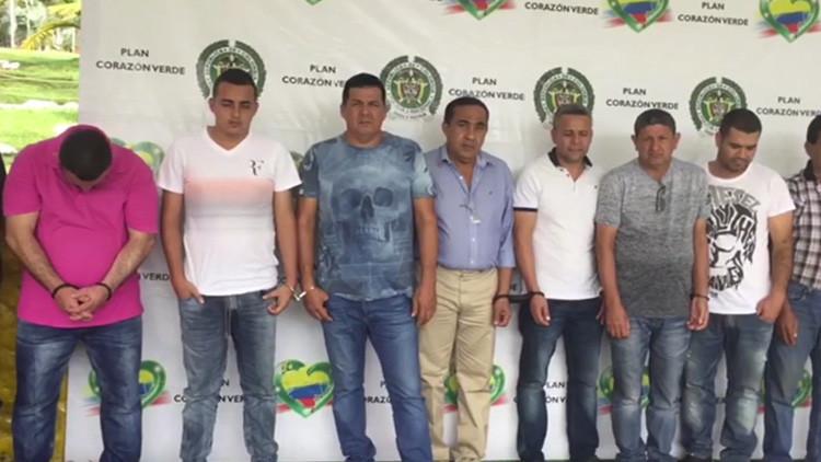 Colombia captura al narcotraficante conocido como 'El señor de la guerra'