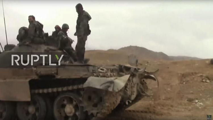 Primeros videos desde la 'perla del desierto sirio' liberada del Estado Islámico