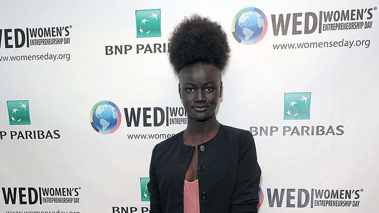 La 'diosa de la melanina' se negó a blanquear su piel (FOTOS)