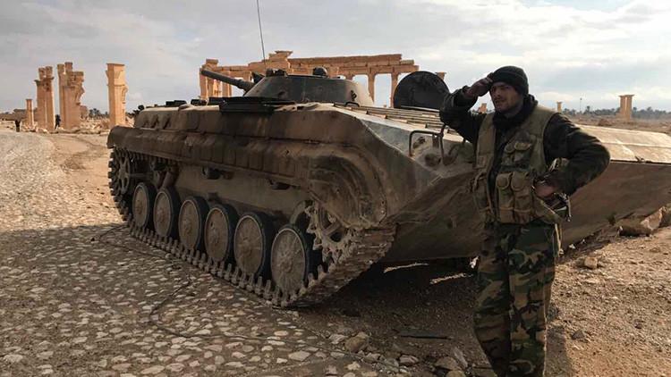 El Ministerio de Defensa ruso revela detalles de la liberación de Palmira