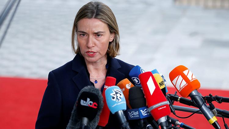 """""""¡Serbia y Rusia no necesitan a la UE!"""": Mogherini visita Belgrado entre gritos de rechazo (VIDEO)"""