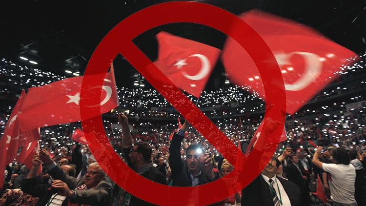 "Ankara acusa a Alemania de ""fascista"" por cancelar manifestaciones de ciudadanos turcos"