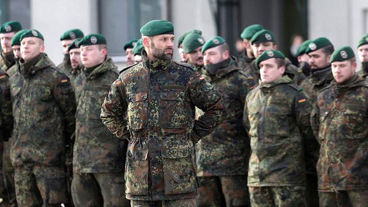 """Alemania mantendrá tropas cerca de la frontera lituana con Rusia """"el tiempo que sea necesario"""""""