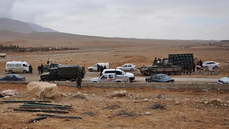 Nuevos videos de RT desde Palmira: Siria combate al Estado Islámico y destruye sus tanques