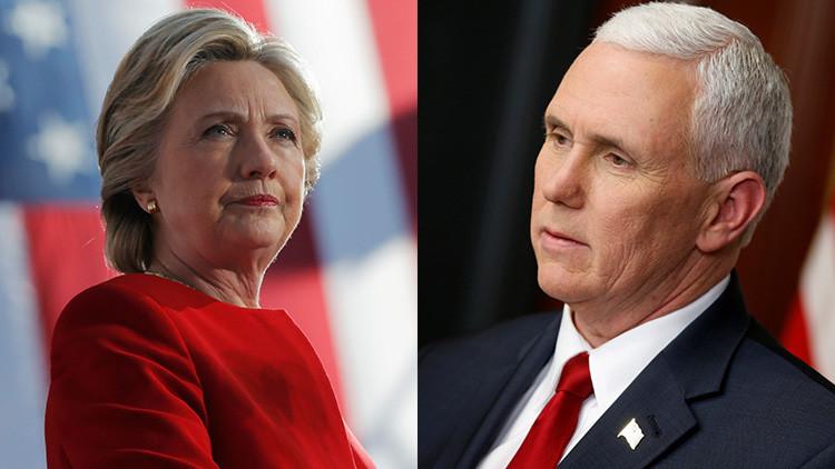 Una foto de Hillary Clinton leyendo sobre el escándalo de los correos de Mike Pence, se hace viral