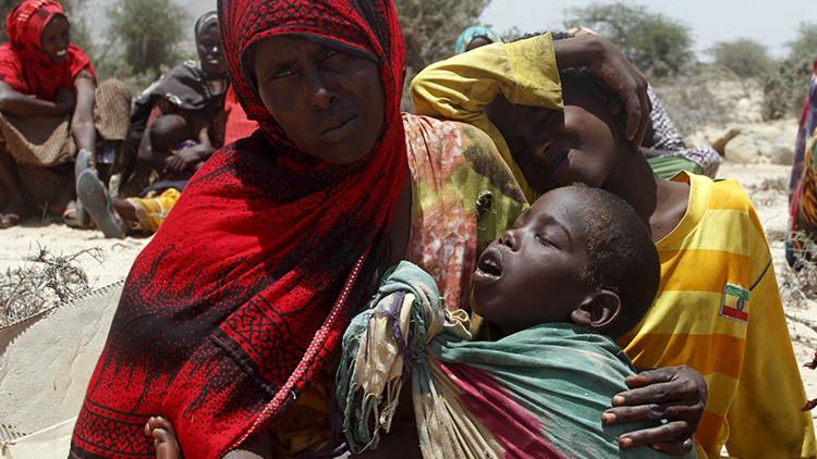 Desastre nacional en Somalia: más de 100 muertos en 48 horas por la sequía
