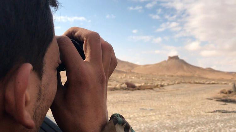 Retransmisión en directo desde Palmira tras ser liberada del Estado Islámico