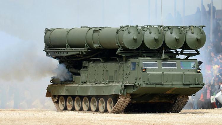 VIDEO: Irán prueba con éxito el sistema de misiles ruso S-300