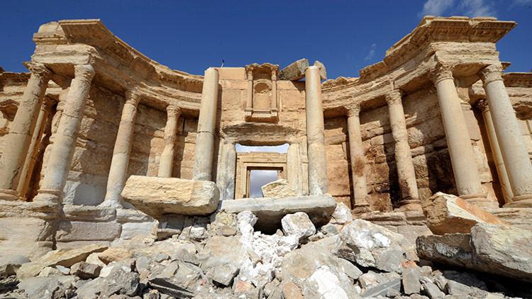 Palmira, antes y después del yugo del Estado Islámico (FOTOS)