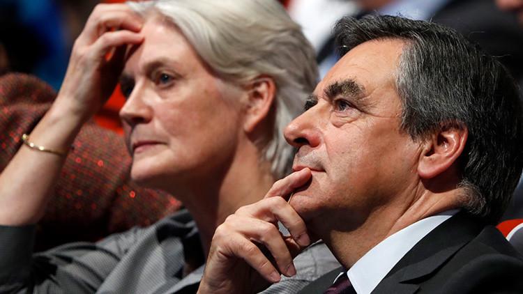 """""""Realicé tareas muy variadas"""": Esposa de Fillon se justifica tras el escándalo de su falso empleo"""