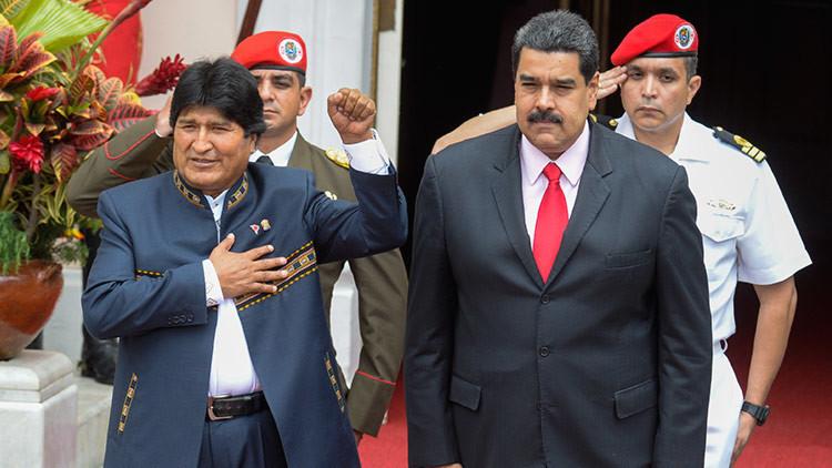 """Evo Morales: """"Chávez nos enseñó a perder el miedo al imperio"""""""